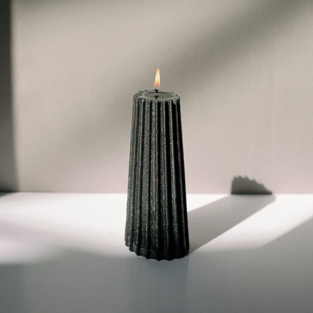 Gear Candle Small - Black
