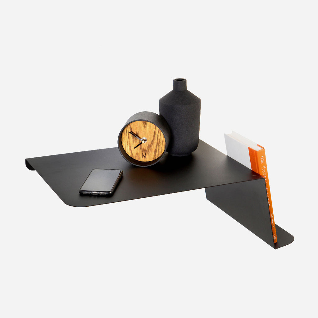 Origami Bedside Table - Black