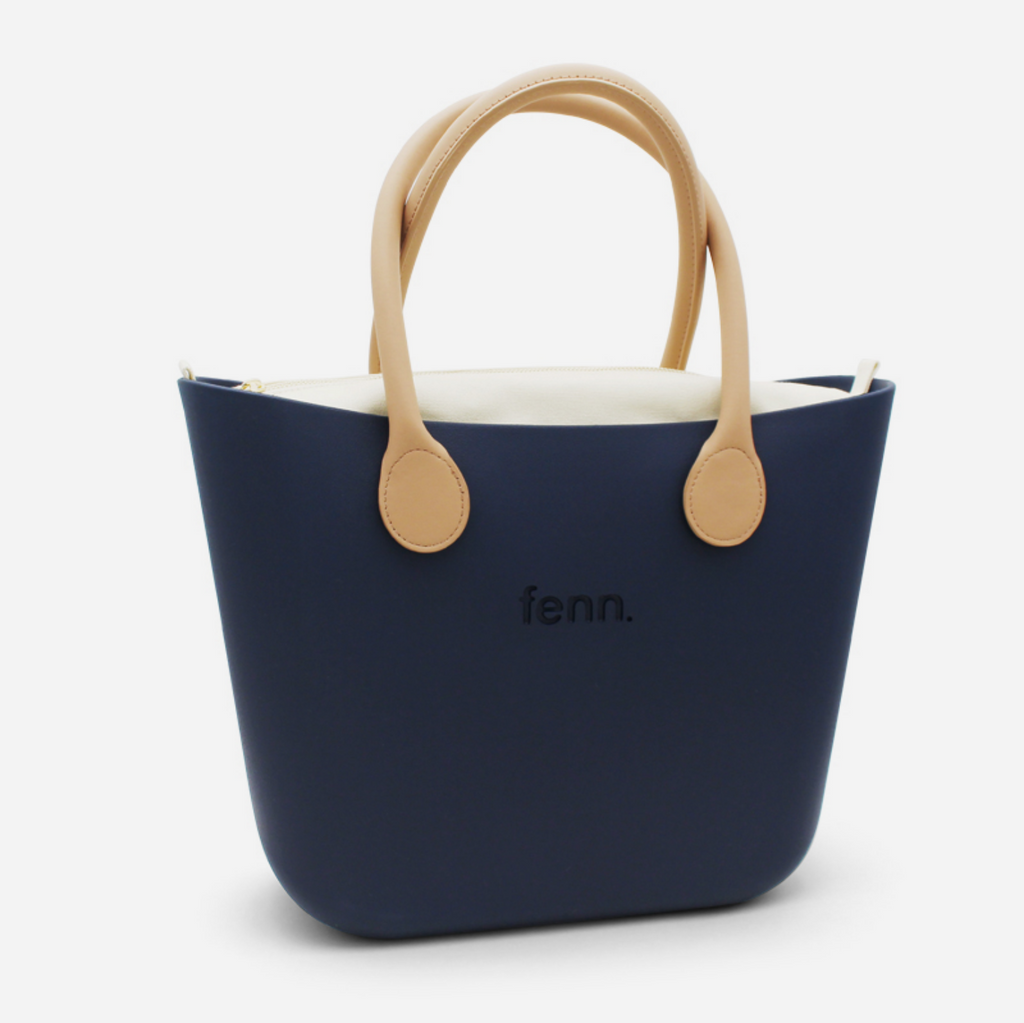 Original Handbag - Navy Beige