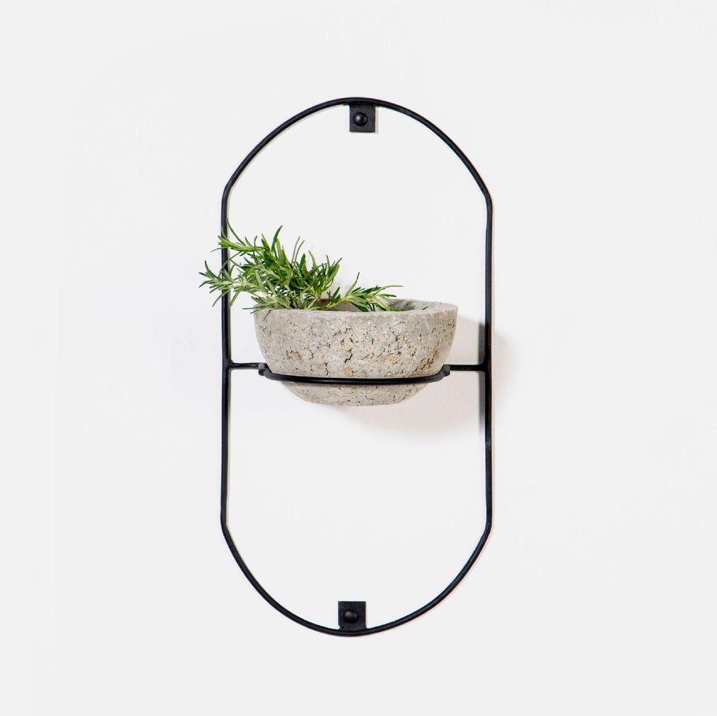 Oval Wall Mounted Planter