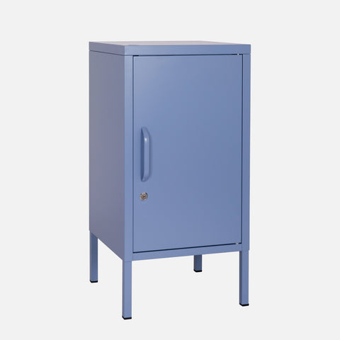 Popstrukt Sugar Cube Side Table - Pigeon Blue
