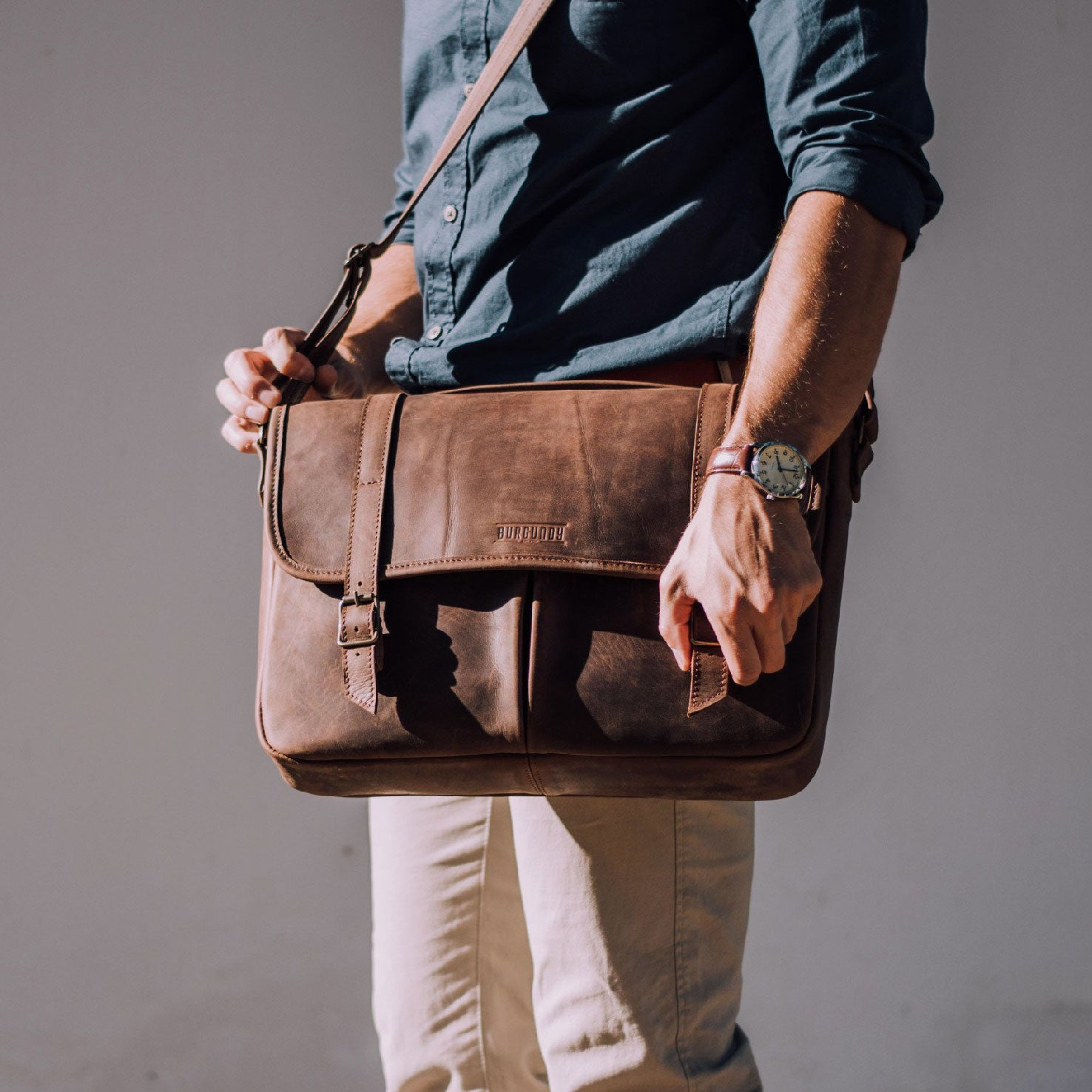 The Satchel - Tan