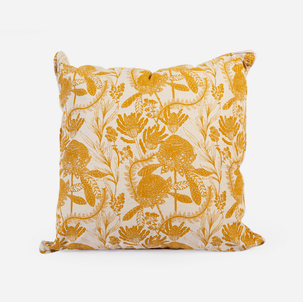 Scatter Cushion - Fynbos Mustard