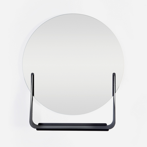Sleek Mirror Shelf