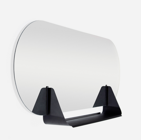 Sleek Pill Mirror Shelf