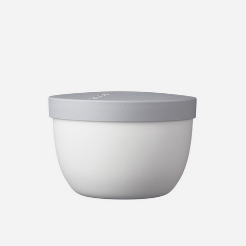 Ellipse Snack Pot - White