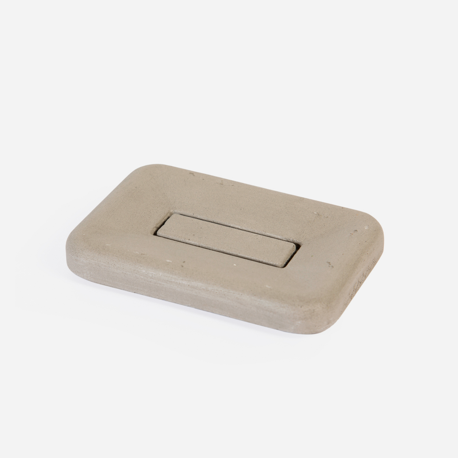 Concrete Soap Dish - Grey