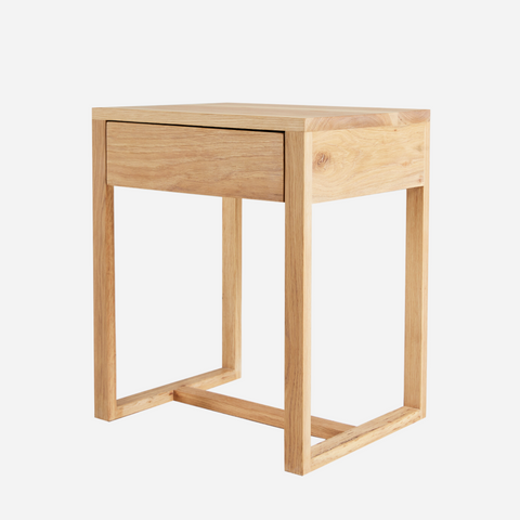 Squared Bedside Table