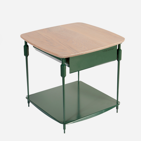 Stockholm Bedside Table (Emerald Green)