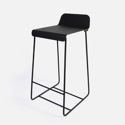 Stockholm Kitchen Stool - Ferro Black