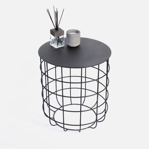 Network Side Table - Black