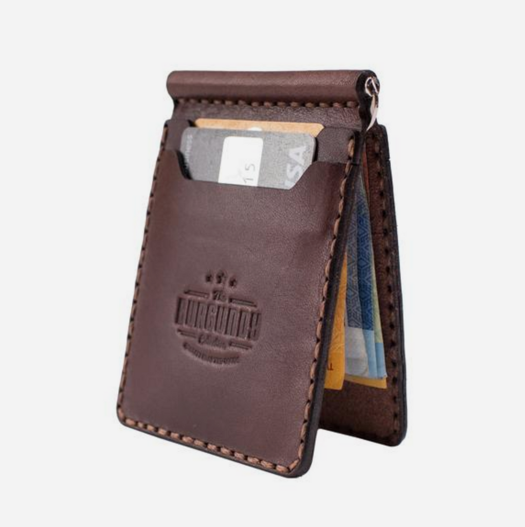 Clip Wallet - Brown