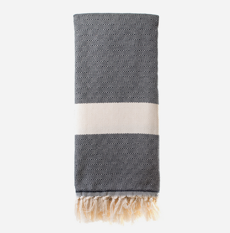 Diamanta Throw - Black