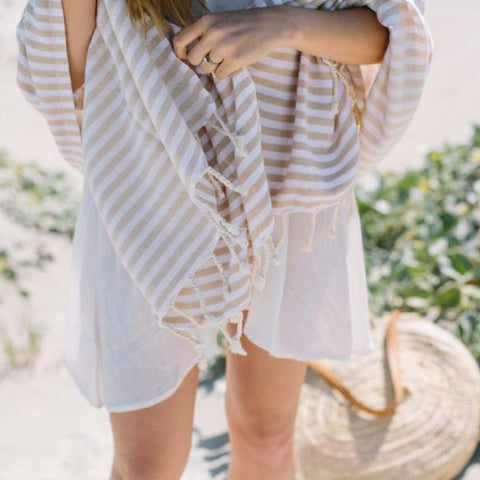 Turkish Towel - SUD Sand