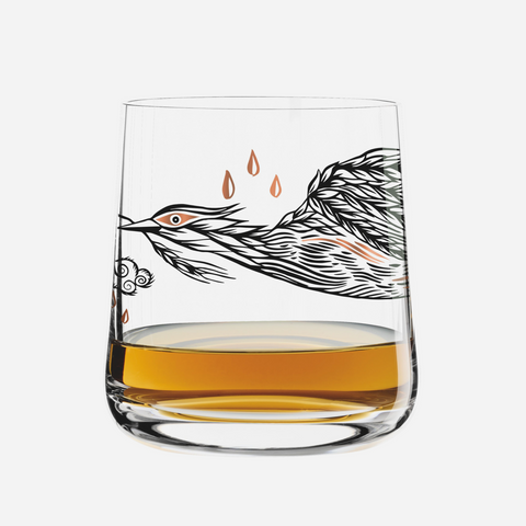 Whiskey Glass - Olaf Hajek