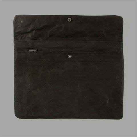 Black Paper Laptop Sleeve