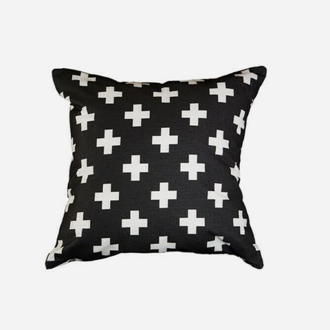 Cushion  Swiss - Black