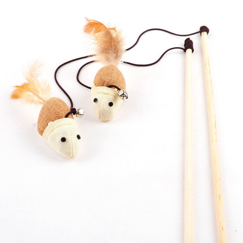 Fishing Rod Cat Toy