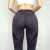 Image of Black Heart Booty Leggings