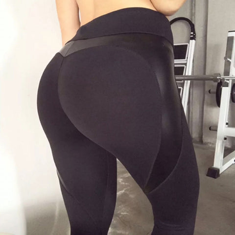 Black Heart Booty Leggings