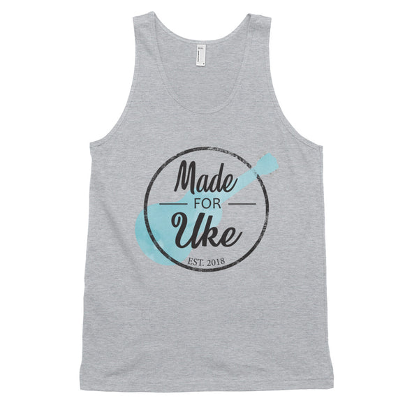 MADE FOR UKE LOGO Classic Unisex Tank Top | Various Colors