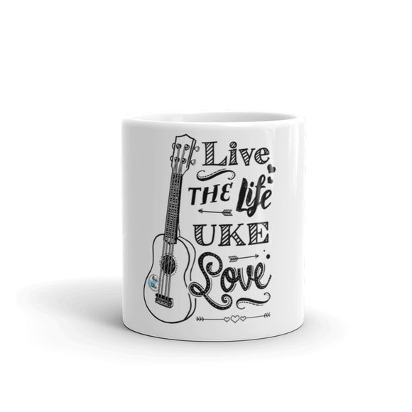 LIVE THE LIFE UKE LOVE Mug | 2 Sizes