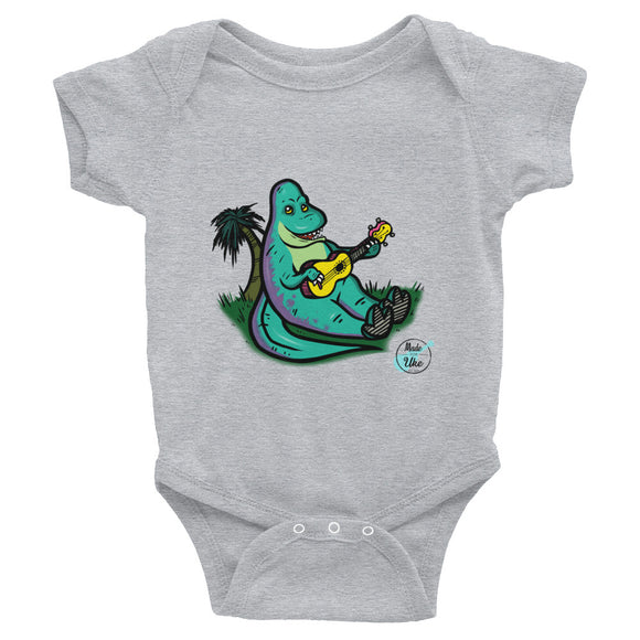 DUKE THE DINO Infant Bodysuit | Various Colors