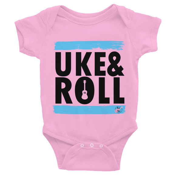 UKE & ROLL | Blue | Infant Bodysuit | Various Colors