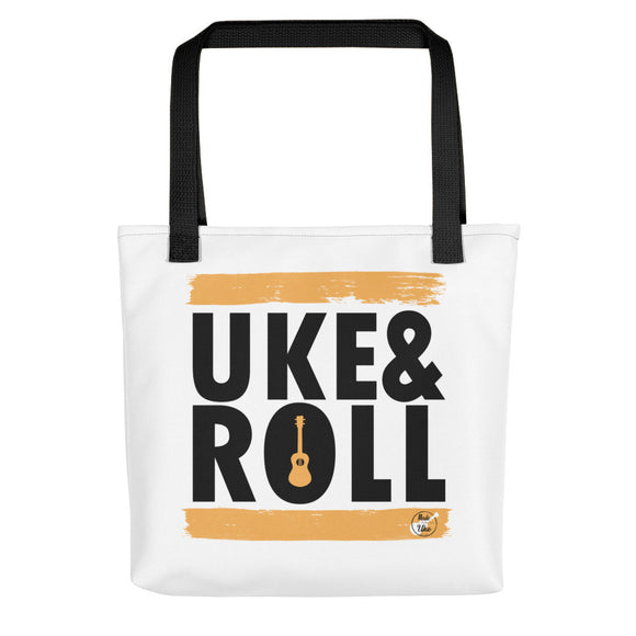 UKE & ROLL Tote Bag | Orange