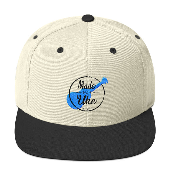 MADE FOR UKE LOGO Snapback Hat | Various Colors