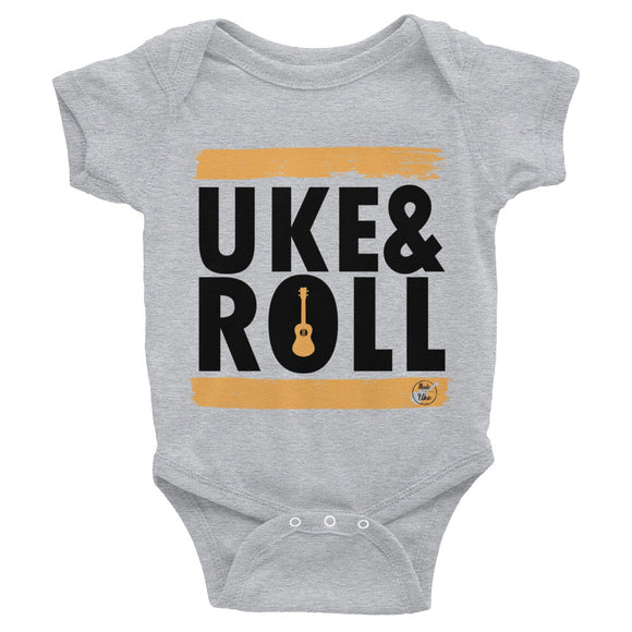 UKE & ROLL Infant Bodysuit | Orange | Various Colors
