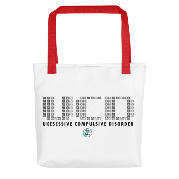 UKESESSIVE COMPULSIVE DISORDER Tote Bag | Various Colors