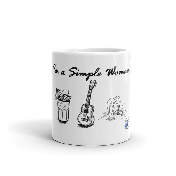 I'M A SIMPLE WOMAN Mug | 2 Sizes