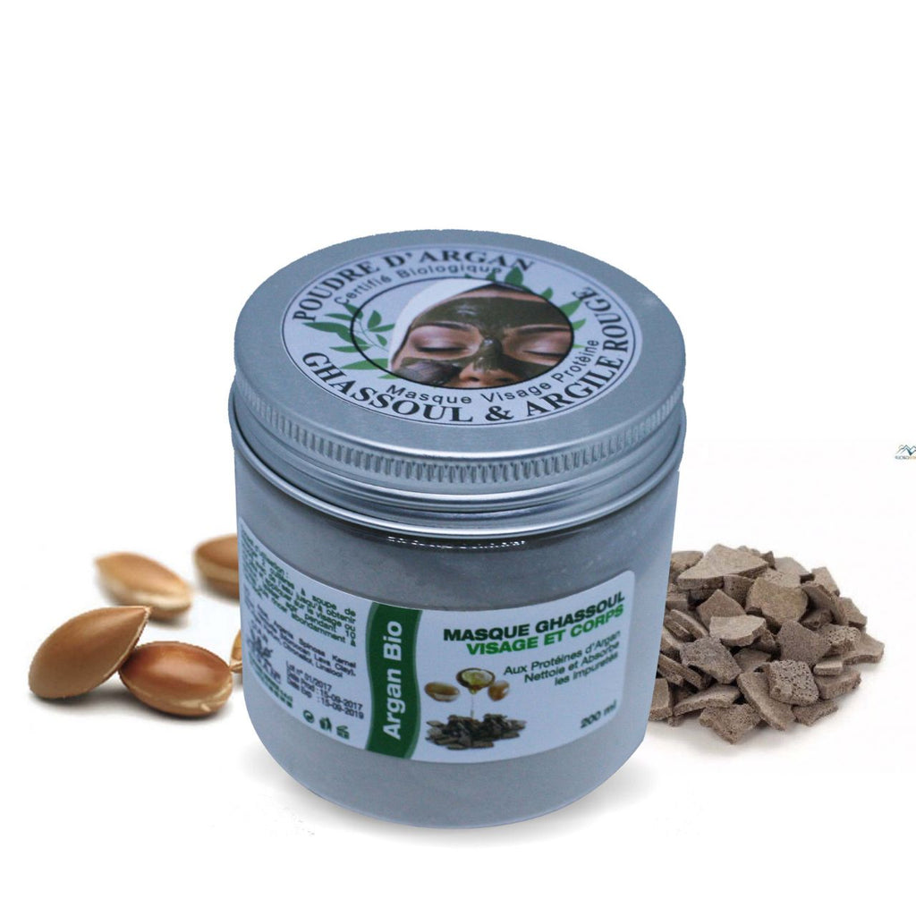 Moroccan Face Mask - Purifying - Argold