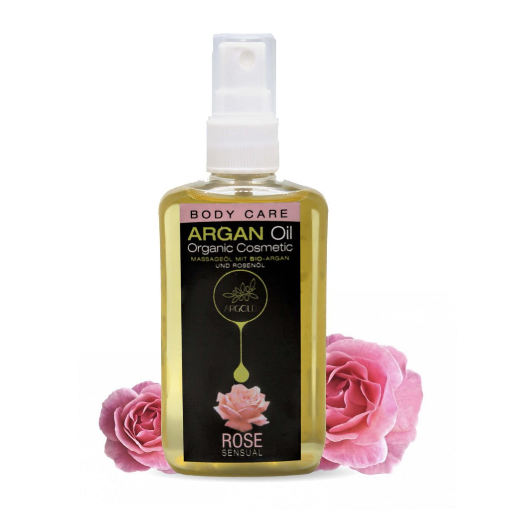 Sensual Argan Oil With Rose Flower - Argold