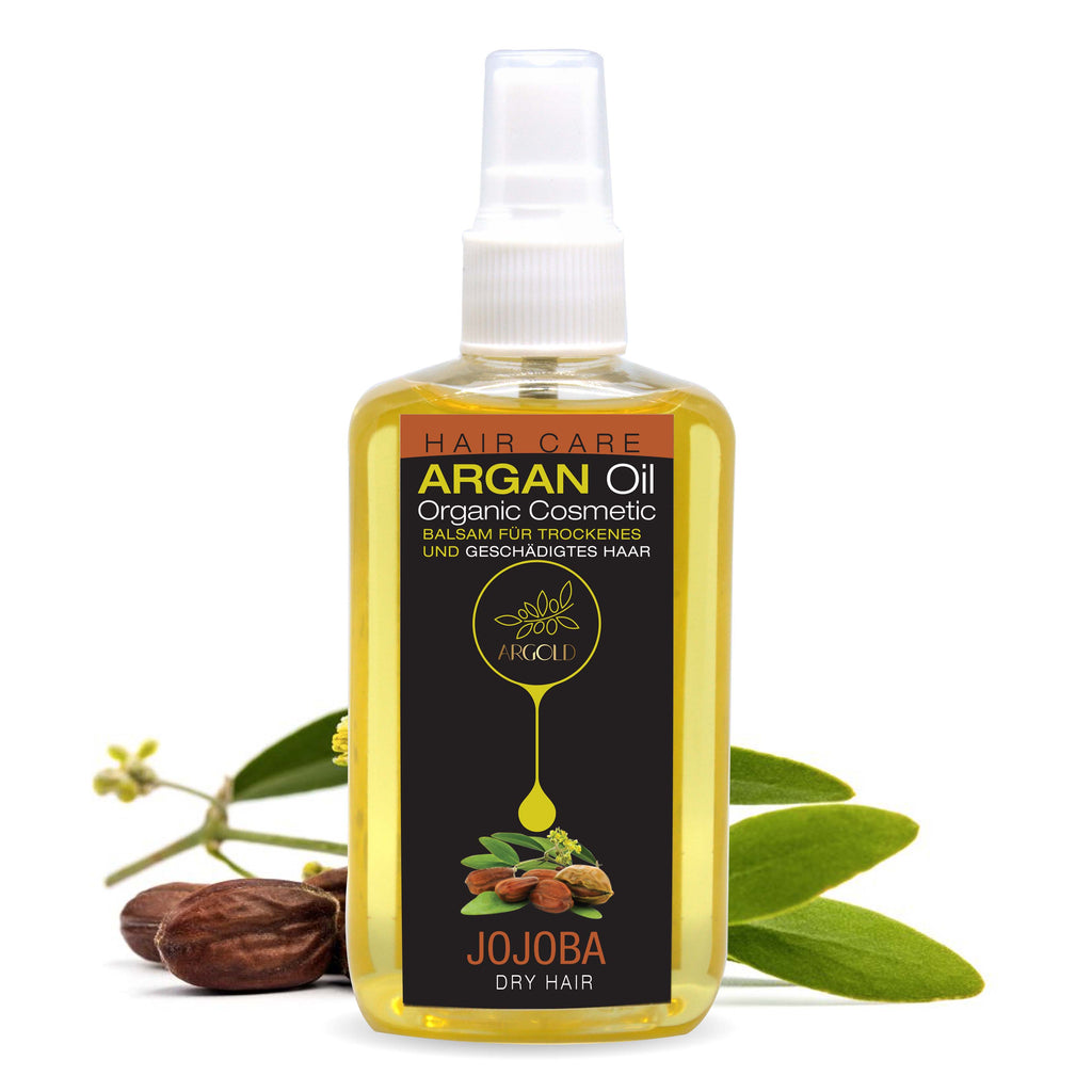Argan Oil With Jojoba For Dry Hair