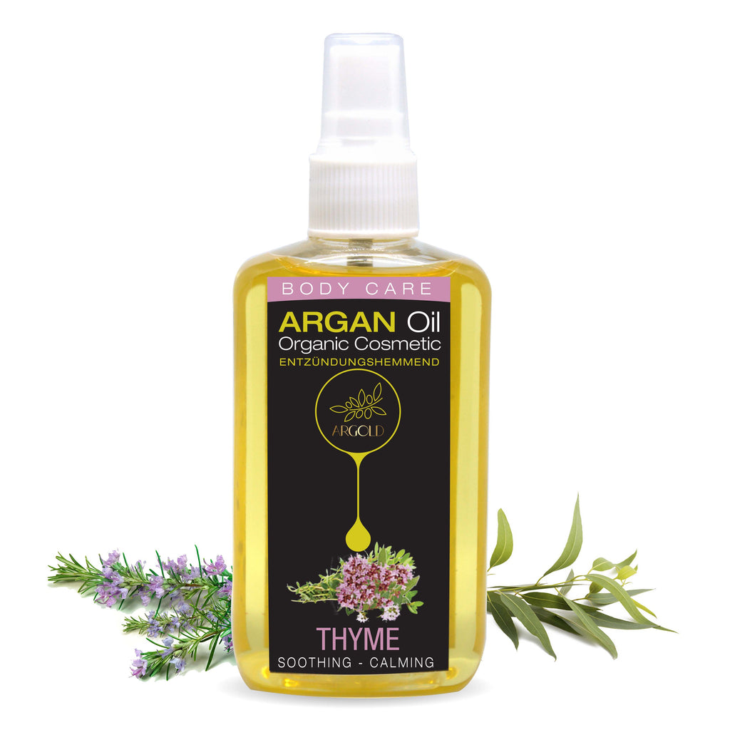 Soothing Calming Argan Oil With Thyme