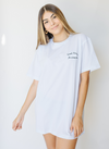 T-Shirt Good things blanca sustentable