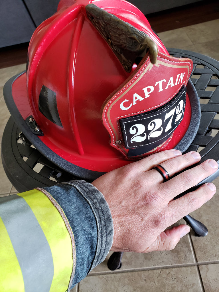 Perfect and Safe Silicone Ring for Firefighters