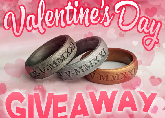Valentine's Day Engraved Ring Giveaway - 4 More Days!