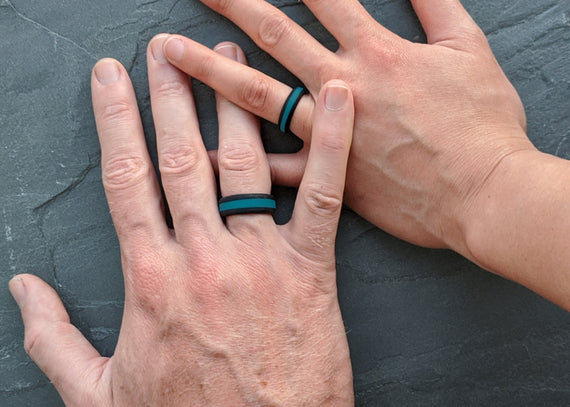 Brand New Striped Silicone Rings: Colours You Asked for!