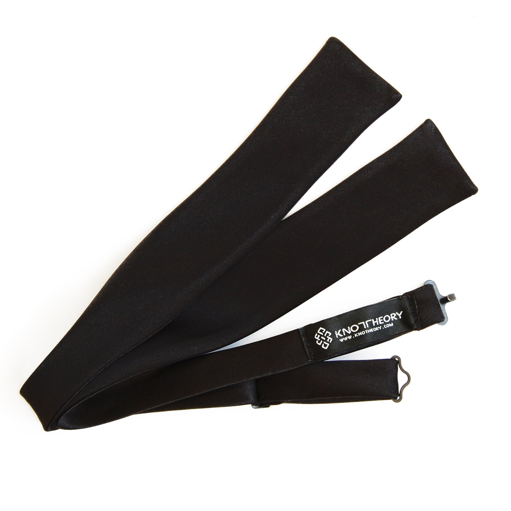 Black Batwing James Bond Bow Tie