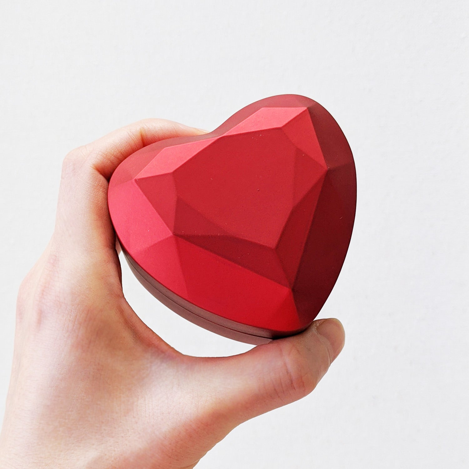 Red Heart Ring Box - Valentine's Day Gift Special - Limited Edition