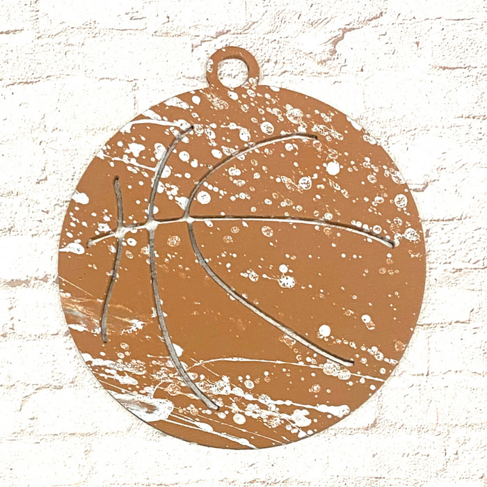 4042 Basketball Ornament WS