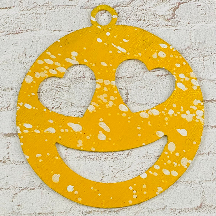 4028 Love Face Emoji Ornament