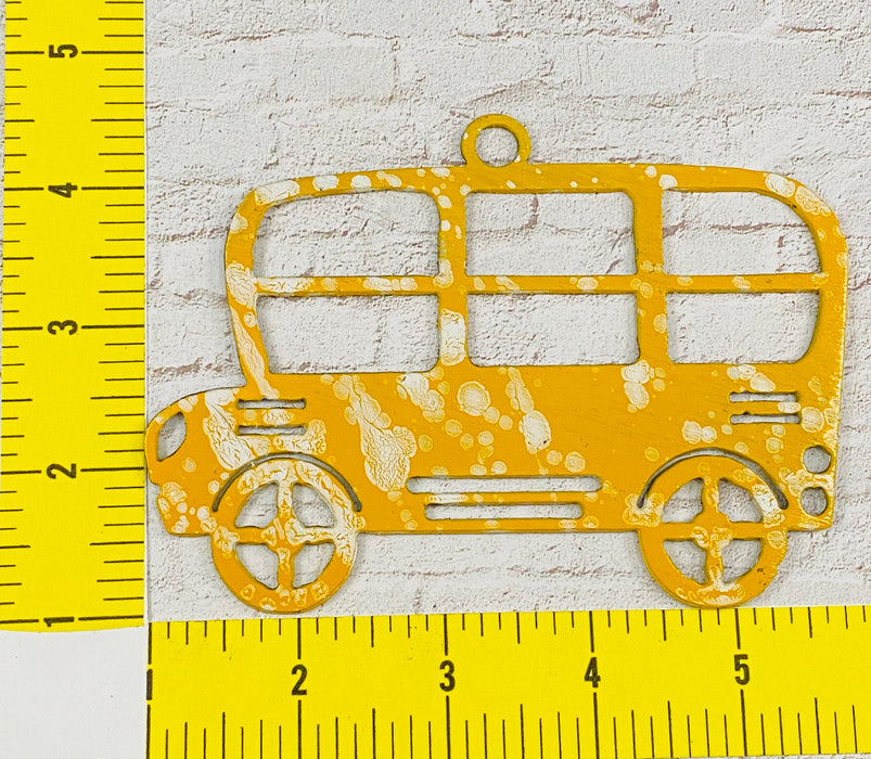 4037 School Bus Ornament