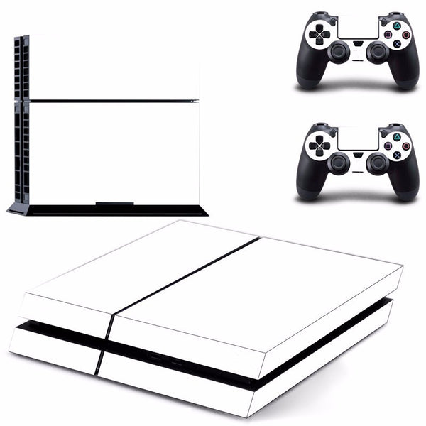 PS4 White Vinyl Decal Skin With Controller Skins - The Trendinator