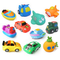 Kids Water Spray Colorful Car Boat Soft Rubber Toys - The Trendinator
