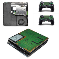 PS4 Slim Circuit diagram Vinyl Decal Skin with Controller Skins - The Trendinator