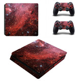 PS4 Galaxy Vinyl Decal Designer Skin With Controller Skins - The Trendinator